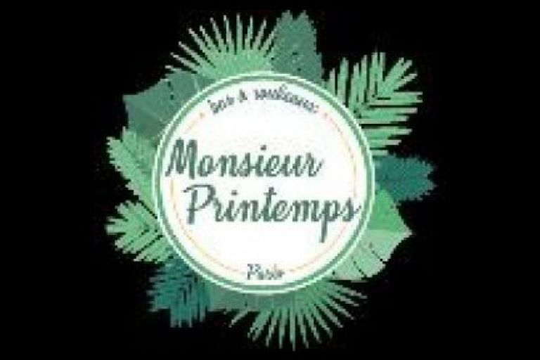 INSTALLATION MONSIEUR PRINTEMPS BAR A ROULEAUX